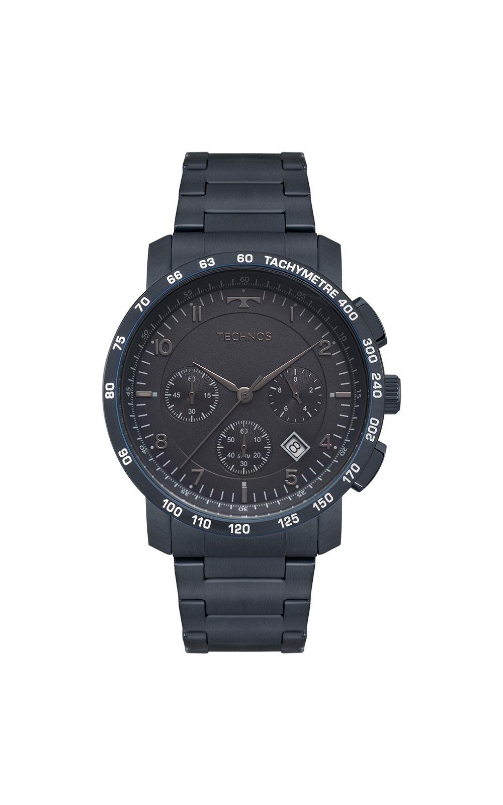 82f78df7d63 Relógio Technos Masculino Skymaster Azul 6S20AC 4A. undefined