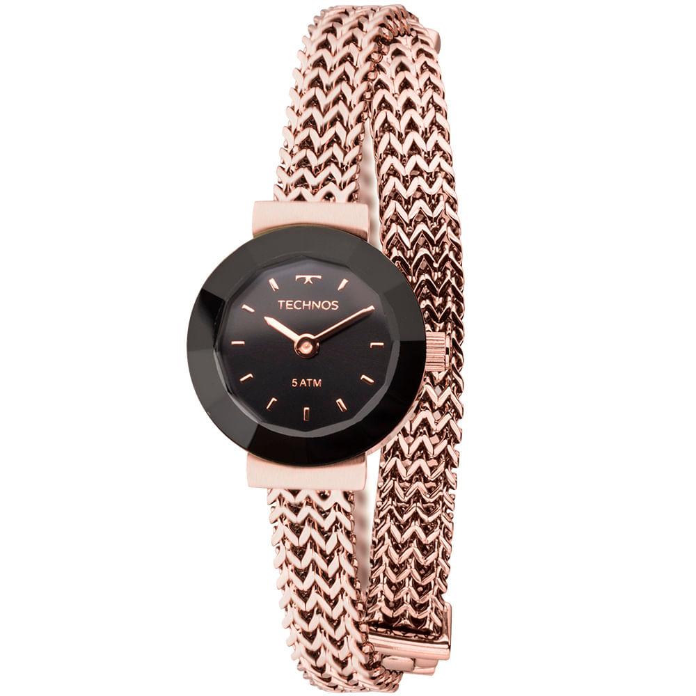 752c3d4c844 Relógio Technos Feminino Mini Rosé 5Y20IR 4P - timecenter