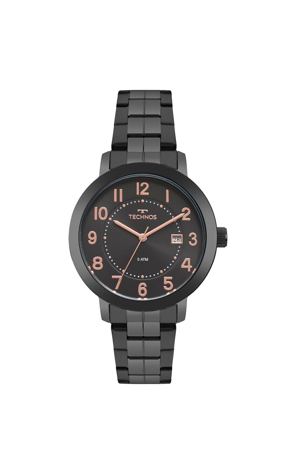 Relógio Technos Feminino Dress Preto 2115MRV 4P. undefined 05a1b93f67