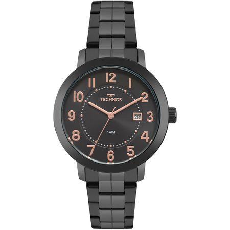 Relógio Technos Feminino Dress Preto 2115MRV/4P