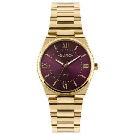 Relógio Euro Feminino New Basic Dourado EU2035YQS/4N