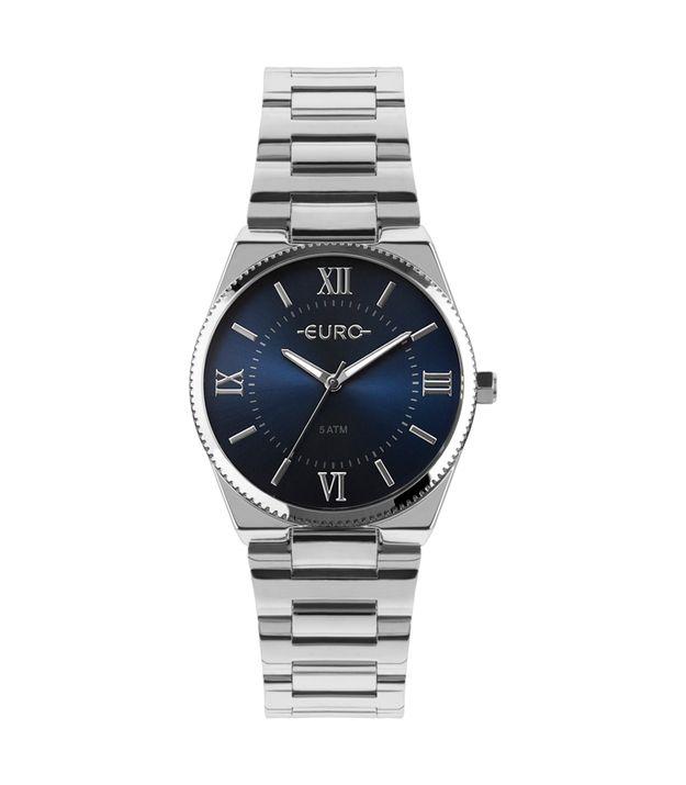 e71a08cddf8 Relógio Euro Feminino New Basic Prata EU2035YQT 3A