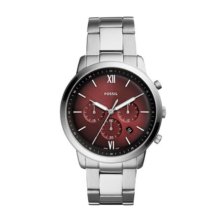 Relógio Fossil Masculino Neutra Chrono Prata FS5491/1KN