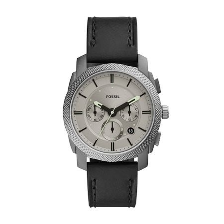 Relógio Fossil Masculino Machine Prata FS5482/0PN