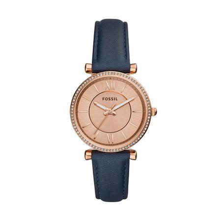 Relógio Fossil Feminino Carlie Rosé ES4485/0JN
