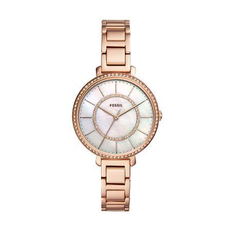 Relógio Fossil Feminino Jocelyn Rosé ES4452/1JN