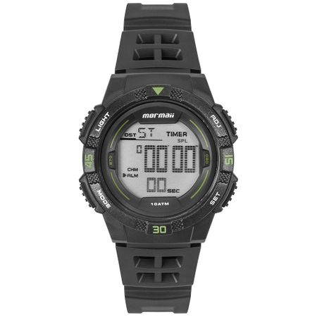 Relógio Mormaii Masculino Wave Preto MO9100AA/8V