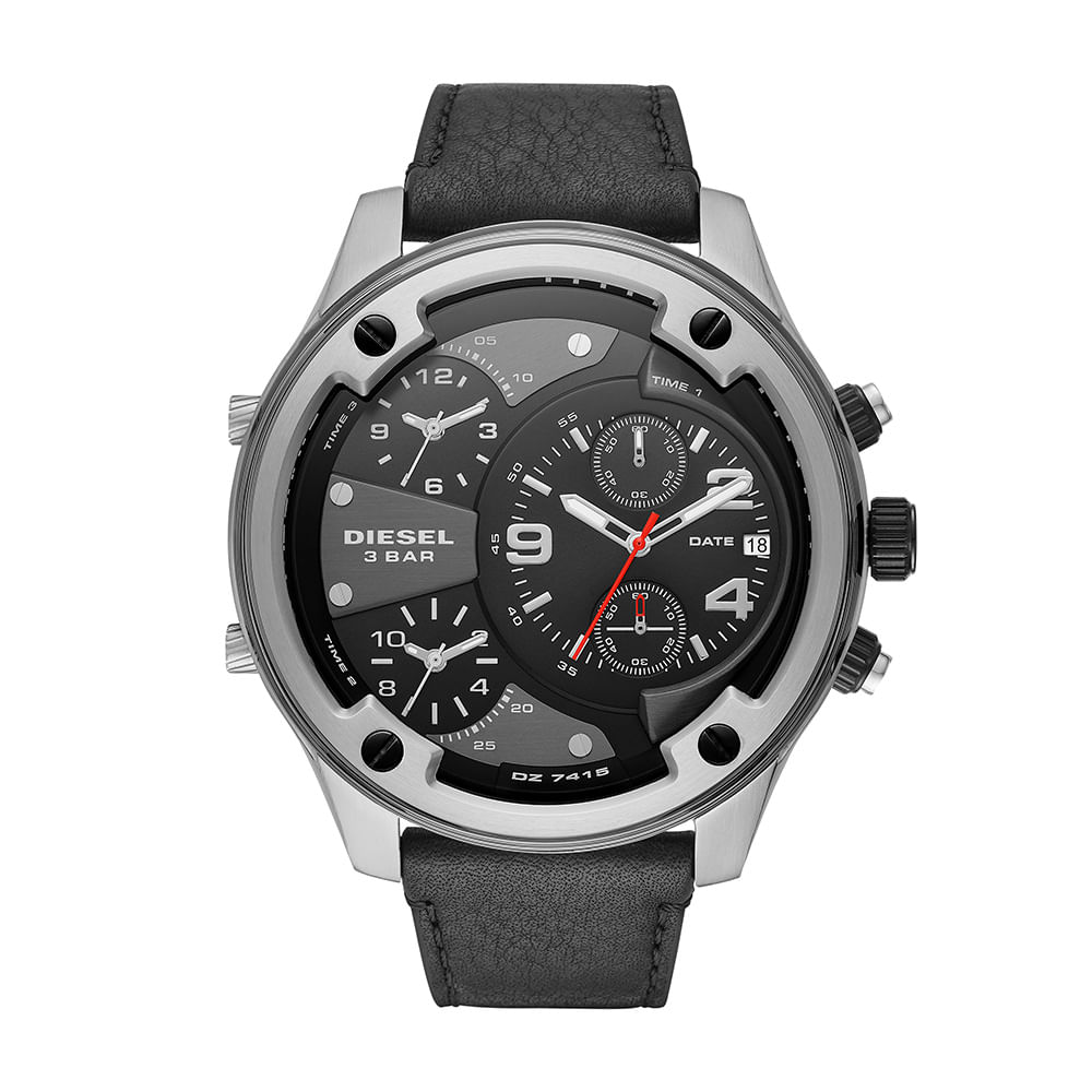 44310349836fc Relógio Diesel Masculino Boltdown Prata DZ7415 0PN - timecenter