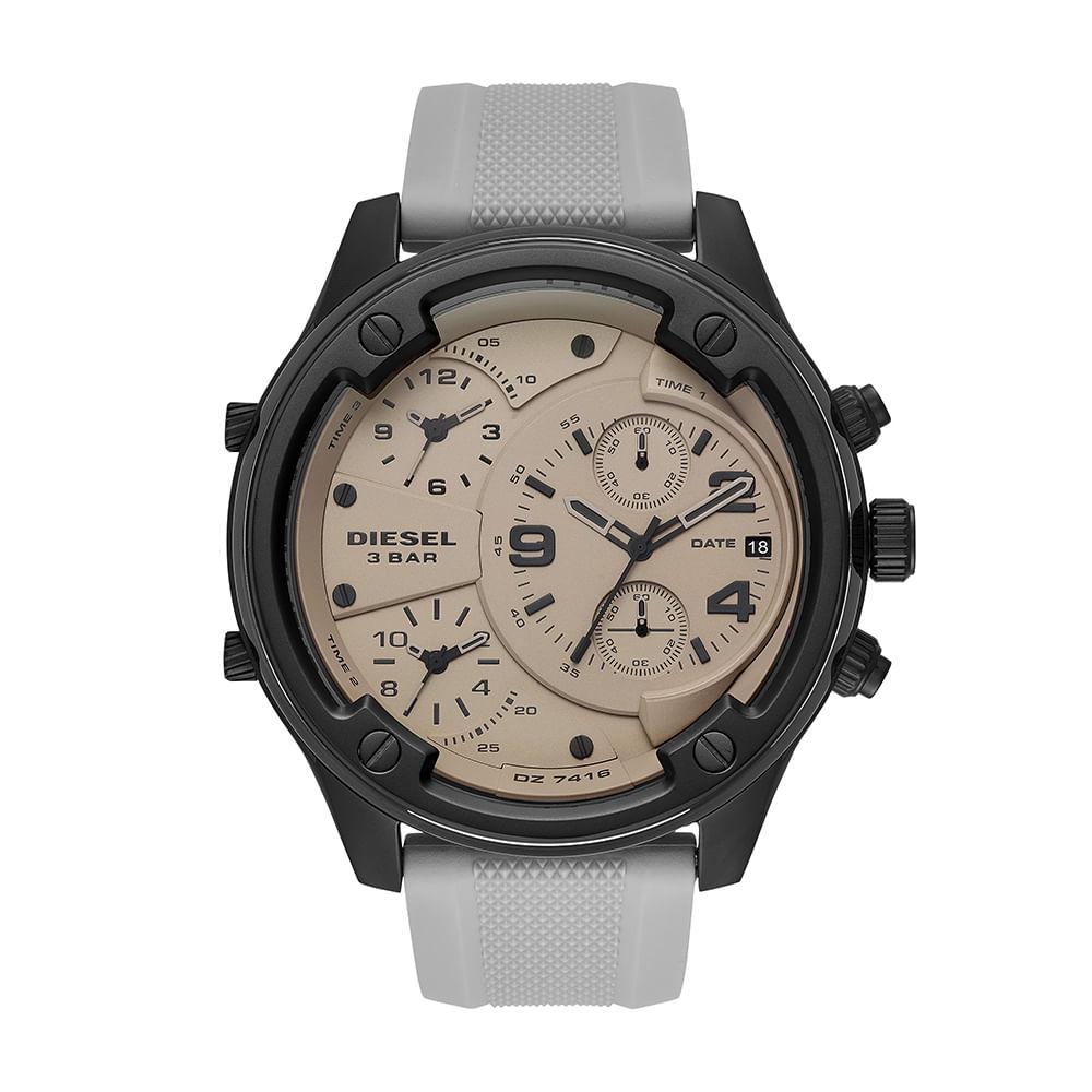 a5fb554e168 Relógio Diesel Masculino Boltdown Grafite DZ7416 8CN - timecenter