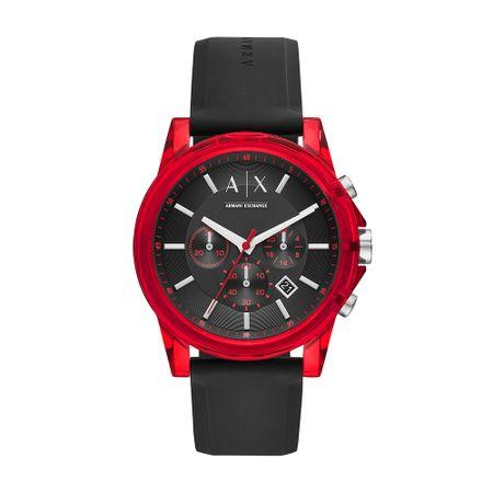 Relógio Armani Exchange Masculino Outerbanks Preto AX1338/8PN