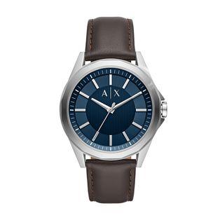 1ab9d2a26da AX26220MN Ver mais. AX2622 0MN Relógio Armani Exchange Masculino Drexler  Prata ...