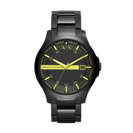 Relógio Armani Exchange Masculino Hampton Preto AX2407/1PN
