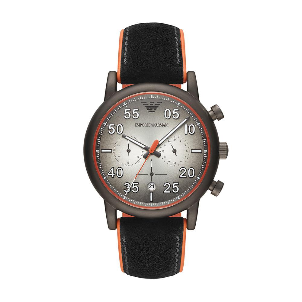 d1705a9517d Relógio Emporio Armani Masculino Luigi Preto AR11174 0PN - timecenter
