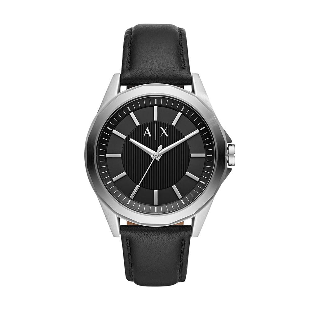 54bfea0e2fd Relógio Armani Exchange Masculino Drexler Prata AX2621 0PN - timecenter