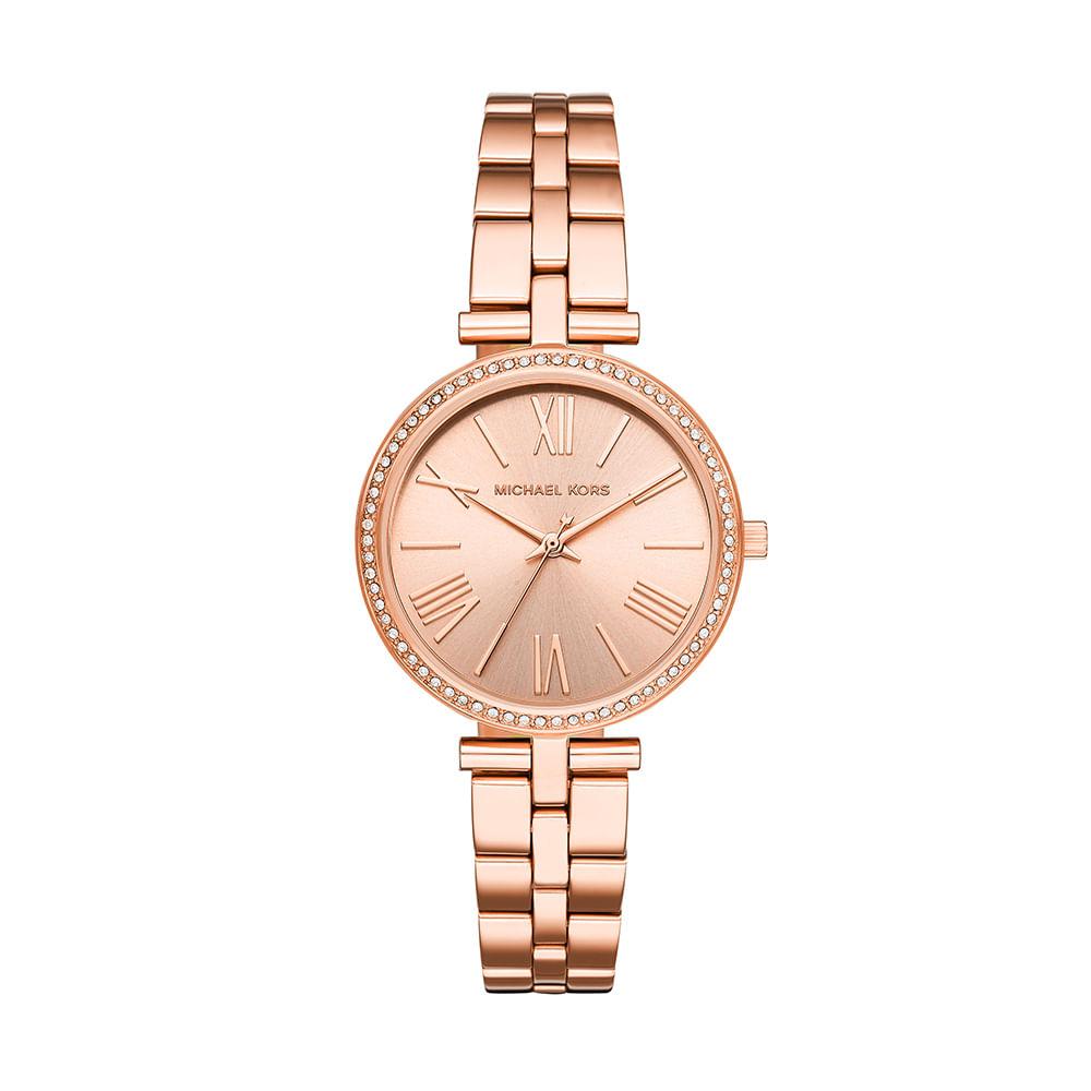741b38b7445 Relógio Michael Kors Feminino Maci Rosé MK3904 1JN - timecenter