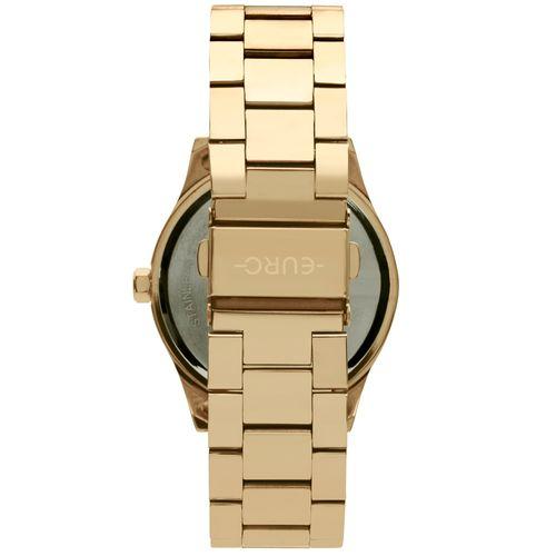 aa7821e6516 Relógio Euro Feminino Aro Spikes Dourado EU2035YQZ 4D - euro