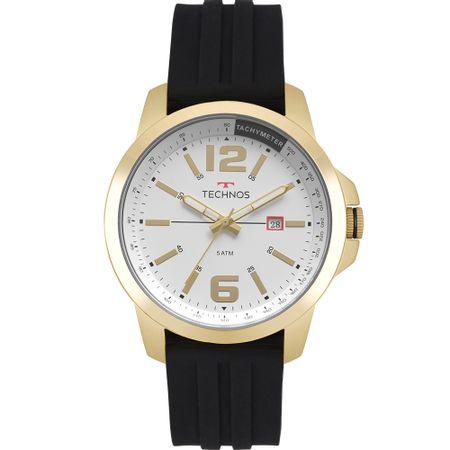 Relógio Technos Masculino Racer Dourado 2115MRO/8P