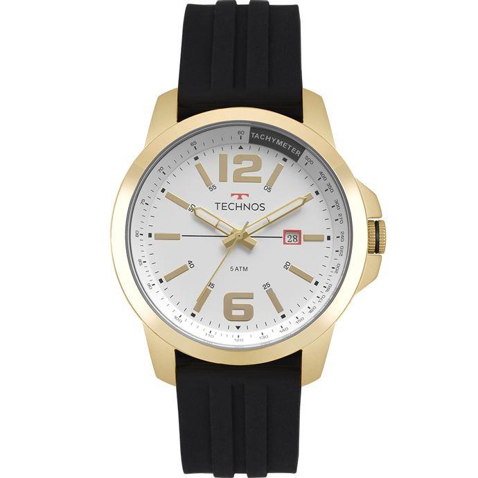 Relógio Technos Masculino Racer Dourado 2115MRO 8P 83bc3f3015