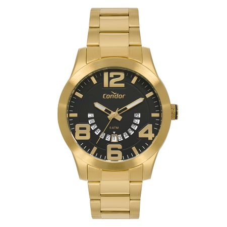 Relógio Condor Masculino Speed Dourado CO2115KUF/4P