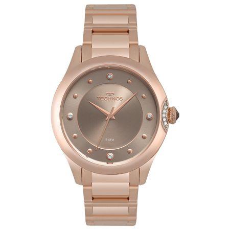 Relógio Technos Feminino Crystal Rosé 2035MQA/5C