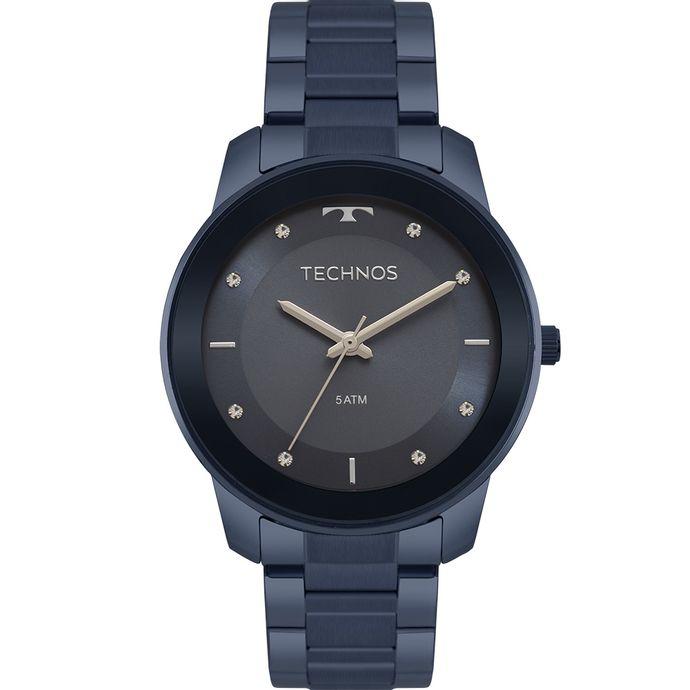 941ff63f8ab Relógio Technos Feminino Trend Azul 2036MKE 4A