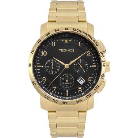Relógio Technos Masculino Skymaster Dourado 6S20AA/4P