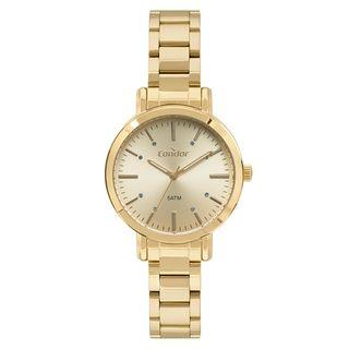 11a66c4e132 Relógio Condor Feminino Bracelete Dourado CO2035FAK K4X