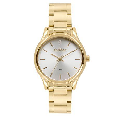 Relógio Condor Feminino Bracelete Dourado CO2035FBY/K4B