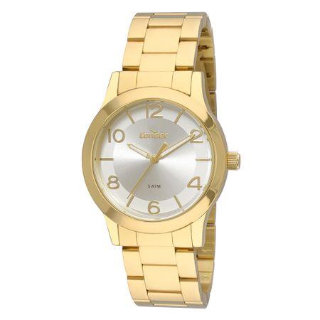 Relógio Condor Feminino Bracelete Dourado CO2035FDZ/K4K