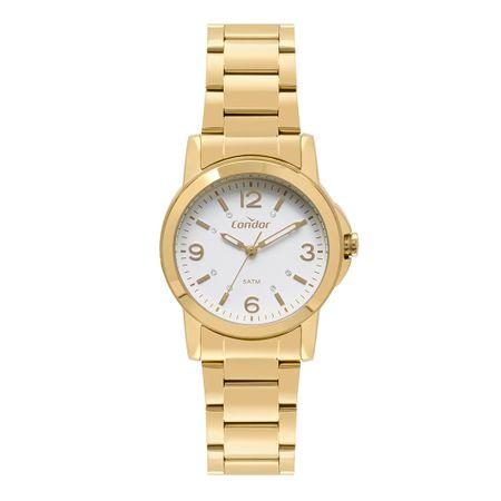 Relógio Condor Feminino Bracelete Dourado CO2035LS/K4B