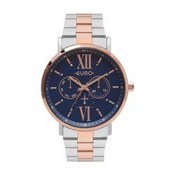 b66dc584128 Relógio Euro Multi Glow Feminino Bicolor EU6P29AHB 5A