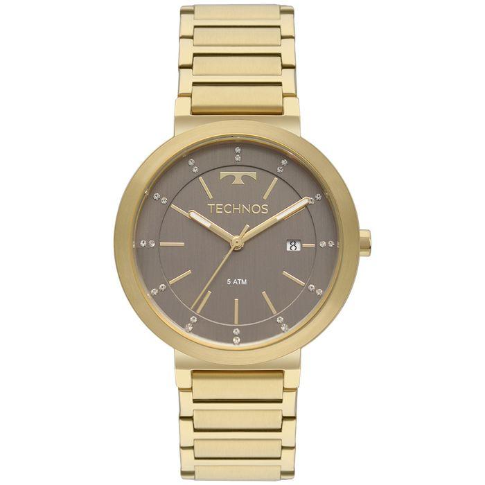 Relógio Technos Trend Feminino Dourado 2115KTL 4M - technos 1faf9e1bfa