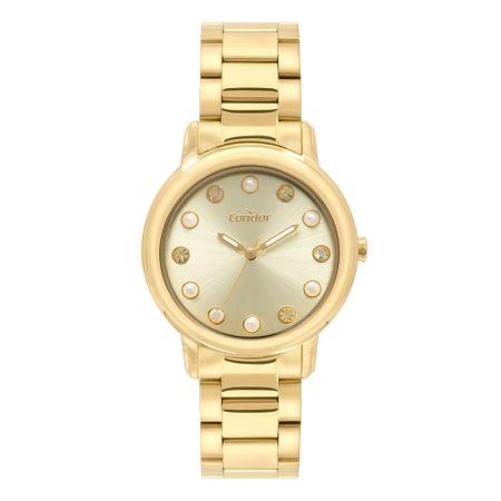 Relógio Condor Bracelete Feminino Dourado CO2035LR/K4D