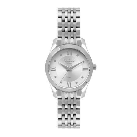 Relógio Condor Aço Feminino Prata CO2035MPW/4K