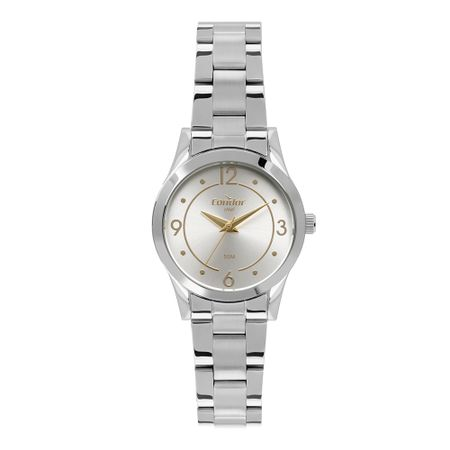 Relógio Condor Aço Feminino Prata CO2035MPY/4K