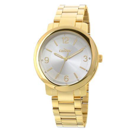 Relógio Condor Bracelete Feminino Dourado COAL2035EYL/K4B