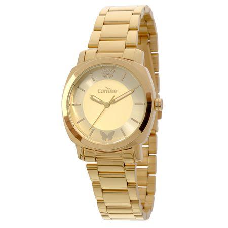 Relógio Condor Bracelete Feminino Dourado COAL2035EYY/K4D