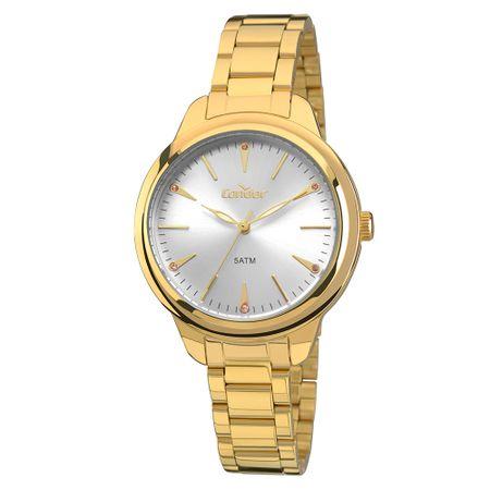 Relógio Condor Bracelete Feminino Dourado COAL2035FAJ/K4K