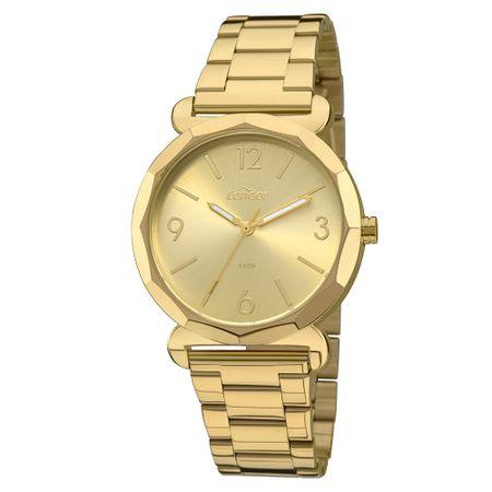 Relógio Condor Bracelete Feminino Dourado COAL2035FAY/K4X