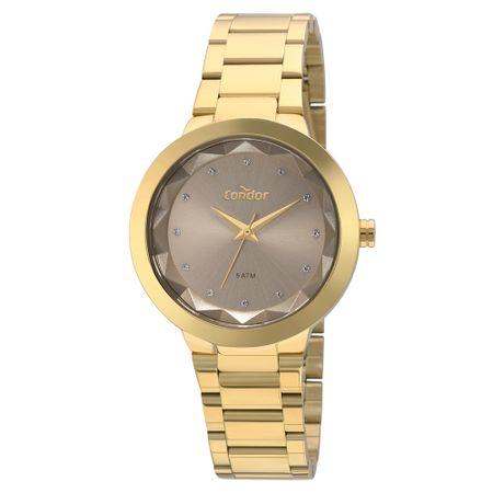 Relógio Condor Bracelete Feminino Dourado COAL2035FKO/K4M