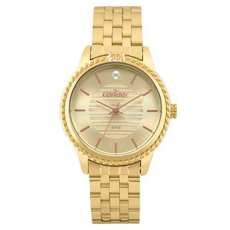 Relógio Condor Bracelete Feminino Dourado COAL2035FKV/K4X
