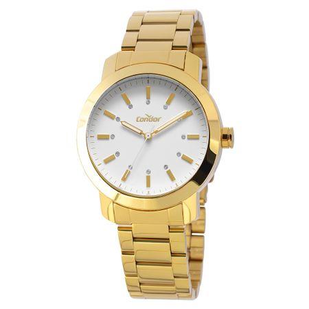 Relógio Condor Bracelete Feminino Dourado COAL2035LH/K4B