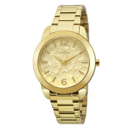 Relógio Condor Bracelete Feminino Dourado COAL2036FGS/K4D