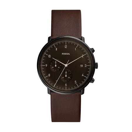 Relógio Fossil Chase Masculino Preto FS5485/0PN