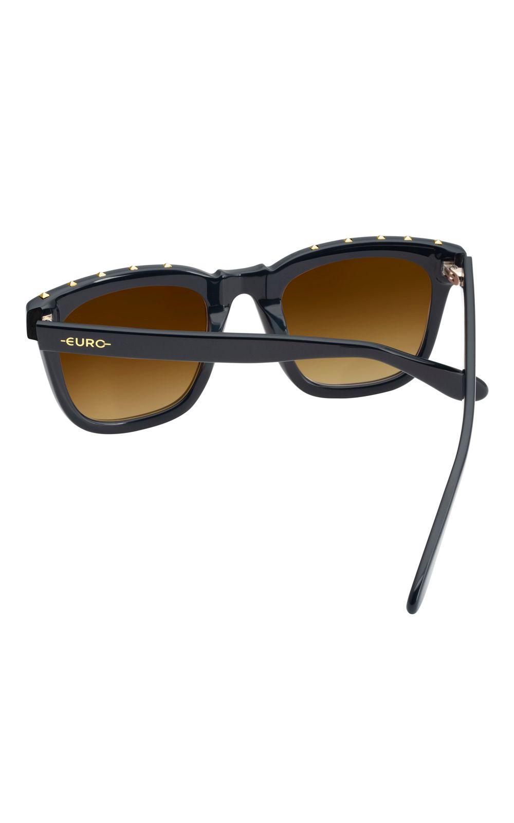 Foto 3 - Óculos Euro Spike Glam Feminino Azul E0034K1541/8D