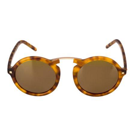Óculos Euro Casual Vintage Feminino Tartaruga E0033F2110/8M