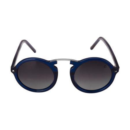Óculos Euro Casual Vintage Feminino Azul E0033K1547/8C