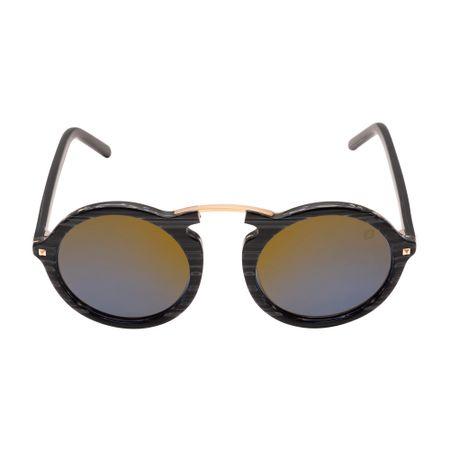 Óculos Euro Casual Vintage Feminino Preto E0033AGB89/8A