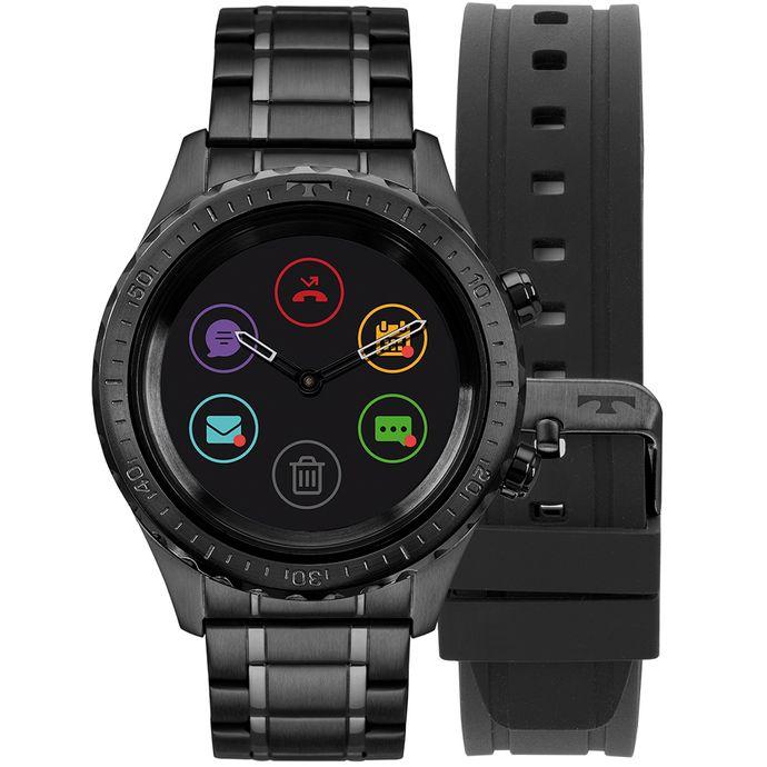 05ce253b18c07 Relógio Technos Connect Duo Preto P01AB 4P