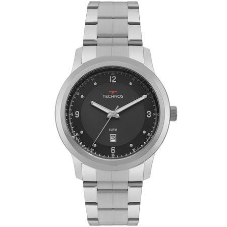 Relógio Technos Steel Masculino Prata 2115MRH/1P